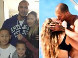 Jeremy Meeks has filed for legal separation from his wife-of-eight years Melissa. The pair are pictured with their son and her son from a previous marriage