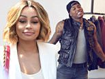 Blac Chyna (right, with lawyer Lisa Bloom) has threatened to sue 'side piece' Rarri True if he releases naked photos of her on the internet