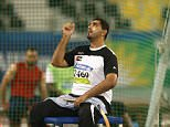 Abdullah Hayayei, 36, was training at Newham Leisure Centre in preparation for the World Para Athletics Championships 2017 which open on Friday