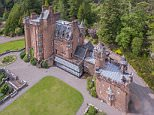 Pictured: Glenborrodale Castle, a 20th century baronial home in the Scottish Highlands, is on the market for £3.75million
