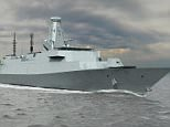 A computer generated imaged of the new Type 26 warships that are about to start being built