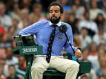 The low tones of honey-voiced Kader Nouni has set pulses racing at Wimbledon and drawn comparisons with singer Barry White