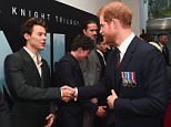 When Harry met Harry! The Prince of Wales (right) joined Dunkirk veterans and stars of Hollywood such as former One Direction star Harry Styles (left) for the premiere of the latest Christopher Nolan film about the evacuation of British troops