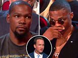 Kevin Durant (pictured) was not having it. Peyton Manning zero'd in on Durant during his opening monologue at the ESPYS