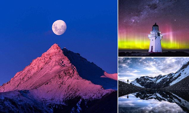 New Zealand's skyline as you've never seen it before
