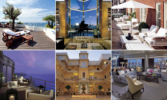 The 10 most expensive hotel suites in the world revealed