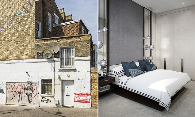 Flats with £2.3m Banksy mural to rent for £1,000 a week