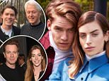Tyler Clinton (right), the 23-year-old nephew of former President Bill Clinton and former Secretary of State Hillary Clinton, posed with Clara McGregor (left), the daughter of actor Ewan McGregor in a series of fashion photos
