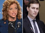 Rep. Debbie Wasserman Schult (D-Fla.), who ran the Democratic National Committee when it got hacked, introduced amendments that would effectively strip Donald Trump son-in-law Jared Kushner of his security clearance