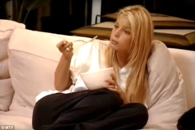 Where it all began: When Jessica was rising to fame on MTV's Newlyweds, she pondered if Chicken Of The Sea was a can of tuna or chicken