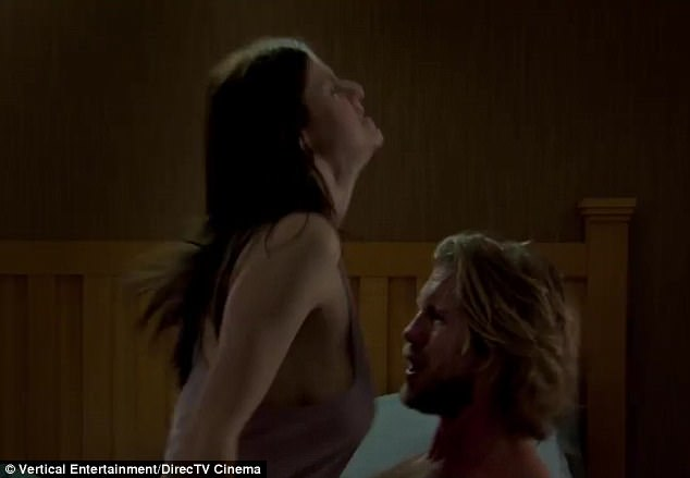 Sex comedy: Kate and Ryan got intimate in the trailer