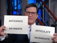 Stephen Colbert Calls Kellyanne Conway 'Satan's Trophy Wife' in Anti-Trump Monologue (Video)