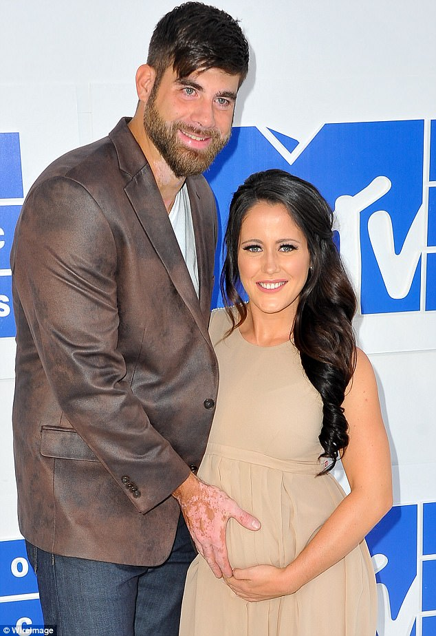 At last: The announcement comes just six months after she gave birth to fiance David Eason's daughter Ensley, her third child in total