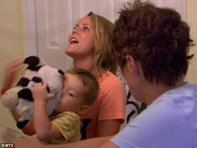 Star turn: Jenelle is one of the personalities featured on Teen Mom 2