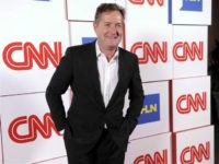 """This Jan. 10, 2014 file photo shows Piers Morgan of the CNN show """"Piers Morgan Live"""" at the CNN Worldwide All-Star Party, in Pasadena, Calif. (Photo by Chris Pizzello/Invision/AP, File)"""