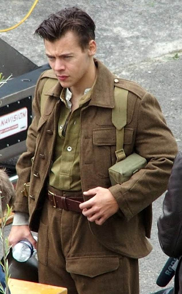 Soldiering on:Harry will play the role of Alex, a British soldier, in the historical drama alongside newcomer Fionn Whitehead and Tom Hardy