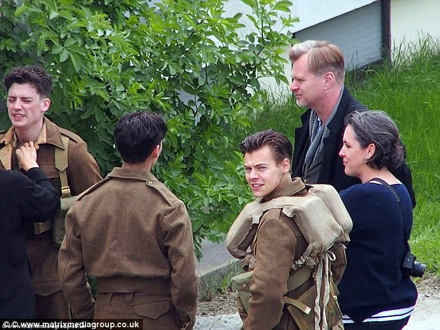 New career move?Even though his role in the Second World War film could be Harry's big break into the film industry, the singer isn't certain about the future of his acting career