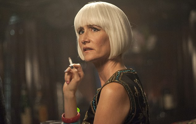 Bringing it back: She has collaborated with David Lynch once again as Diane on Twin Peaks