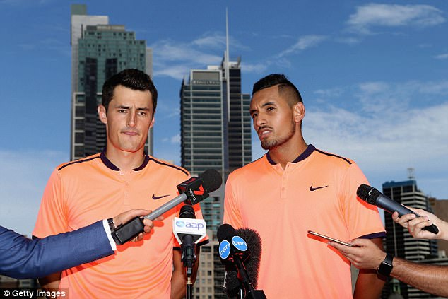 Encouraging: Lleyton is reportedly providing 'unwavering support' to the two troubled players, which has allegedly left Bec feeling 'increasingly isolated and unappreciated'
