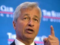 """JPMorgan chief executive Jamie Dimon gave a generally positive outlook Thursday, saying, """"US consumers and businesses are healthy overall and with pro-growth initiatives"""""""