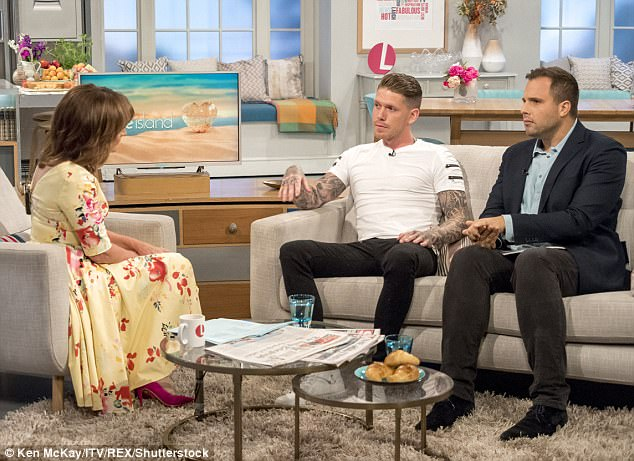 Grafting: The personal trainer had arrived as a latecomer to the Island and was one of six new boys to enter the Love Island villa when the original islanders had been separated