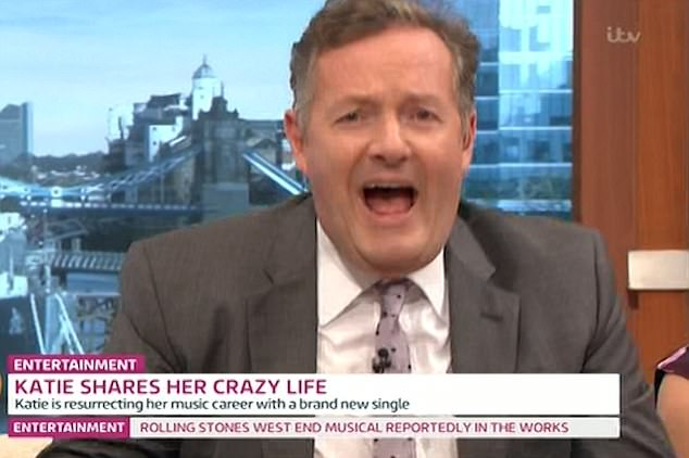 'I think we should duet': Piers suggested they call themselves 'Piers and Pricey'
