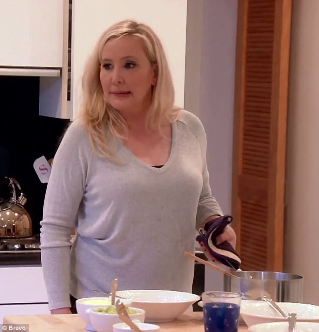 Distraught: Shannon said she's 'embarrassed' of her figure after putting on weight following last year's chain of events