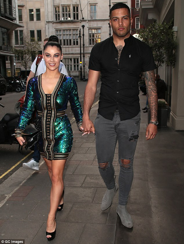 Glittering: The couple had bounced back after the birth and were spotted out and about in London in May