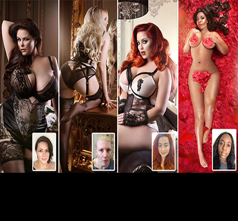 Women are unrecognisable after transforming for sultry boudoir shoots