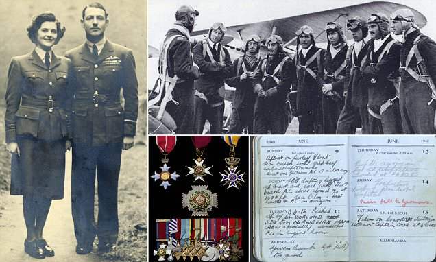 Archive of RAF hero shipwrecked in Arctic up for sale