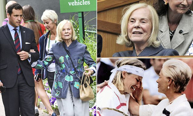 The real star of Wimbledon: The Duchess of Kent