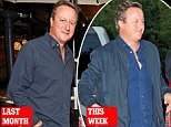 David Cameron was spotted at a soiree in Queen's Park, where guests refreshed themselves with white wine, pink vodka cocktails and gin and tonics