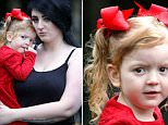Amelia-Grace McGuirk, pictured with mother Rebecca, was left with a string of injuries which Dominic James Latham pleaded guilty to