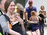 Aidan go bragh:Chelsea Clinton touched down at Heathrow Airport just outside London on Thursday with her  one-year-old