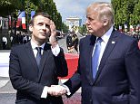 The epic 30 second handshake battle between Donald Trump and Emmanuel Macron in Paris on Friday was a clear power struggle, a body language expert says