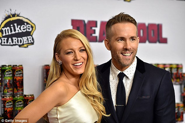 Hectic lifestyle: Lively is filling up her schedule with numerous movie projects since giving birth to her second child, Ines, with husband Ryan Reynolds in September