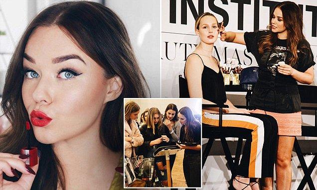 Leading beauty blogger Michelle Crossan impact on fans