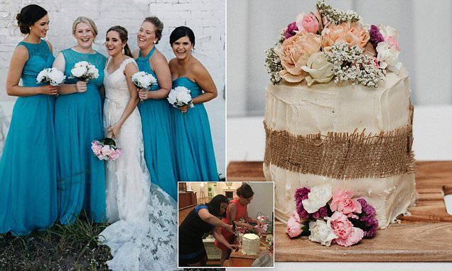 Meet the bride whose wedding cake was from Woolworths