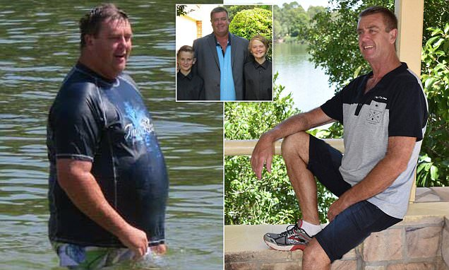 Father-of-four loses 72 kilos in less than a YEAR