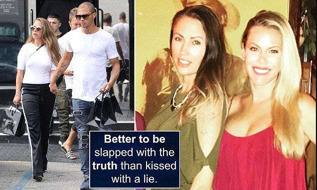 Jeremy Meeks' ex speaks out as he's seen with Chloe Greene