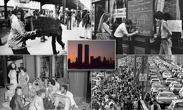 Chaotic aftermath of 1977 New York City blackout pictured
