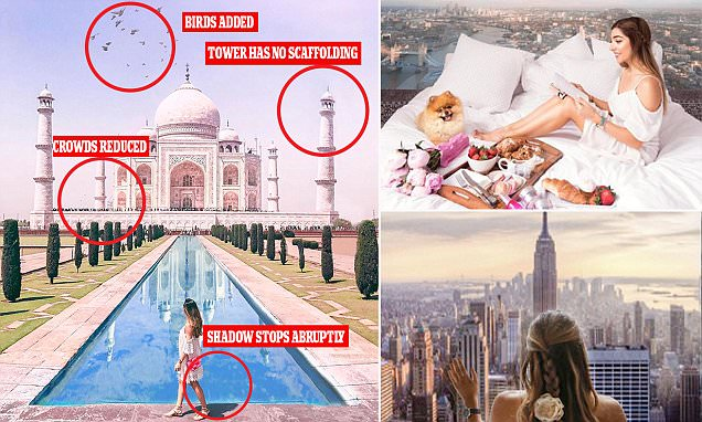 Amelia Liana is called out over 'fake' travel images