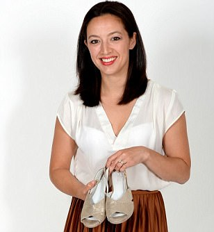 Jennifer Bailey developed Calla shoes after suffering with painful bunions