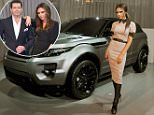 Putting on the glitz: Former Spice Girl Victoria Beckham at the car launch