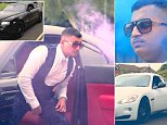Zain Kayani made a grand entrance surrounded by blue smoke at the school prom after his brother decided to hire a fleet of cars
