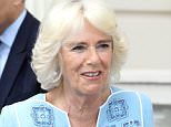 The Duchess of Cornwall at a reception earlier this week to mark her 70th birthday at Clarence House in London