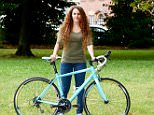 Jenni Morton-Humphreys, 30, planned a sting operation with a stranger and had her expensive German racing bike back within the space of 24 hours from when it was stolen last weekend