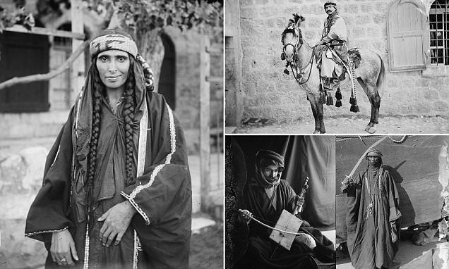 The everyday lives of Bedouins - 100 years ago