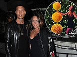 Jeremy Meeks, 33, and Chloe Green, 26, were seen dining out together at the swanky Italian restaurant Madeo in Los Angeles