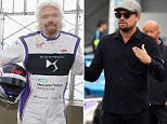 Leonardo DiCaprio toured the garages on the eve of this weekend's inaugural Formula E New York City ePrix on July 14
